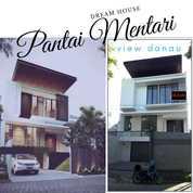Rumah PANTAI MENTARI 3 Lantai JLN UTAMA View DANAU Dk Mulyosari Babatan Bs Usaha (26431007) di Kota Surabaya