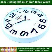 Jam Dekorasi Dinding Black White (26437859) di Kota Jakarta Timur