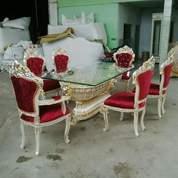 Meja Makan Vatira 6 Kursi (26441287) di Kota Tangerang