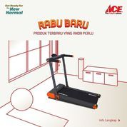 ACE Hardware Kinetic Motorized Treadmill Special Price (26451551) di Kota Jakarta Selatan