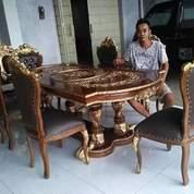 Meja Makan Ganesa 6 Kursi Code D22 (26462455) di Kota Tangerang