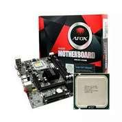 Motherboard LGA 775 DDR3 Dan Core 2 Quad Q9500 (26478183) di Kab. Sleman