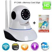 Wireless IP Camera Baby Cam Baby Monitor Cctv Wireless 2 Antena Murah (26482419) di Kota Jakarta Pusat