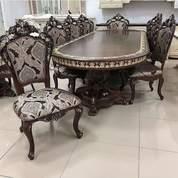 Meja Makan Voliza 6 Kursi (26493503) di Kota Tangerang