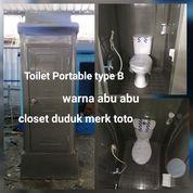 Toilet Portable B Warna Abu Abu (26496063) di Kab. Tangerang