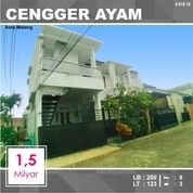Rumah + Kost Luas 123 Di Cengger Ayam Sukarno Hatta Kota Malang _ 618.19 (26499023) di Kota Malang