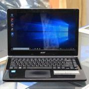 Laptop Slim Acer Aspire E1-410 ( N2820 ) Siap Pakai Kerja Dan Kuliah (26503835) di Kota Malang