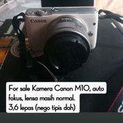 Kamera Canon M10 (26505515) di Kota Bekasi