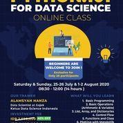 PYTHON 101 For DATA SCIENCE - Online Class (26508171) di Kota Surabaya