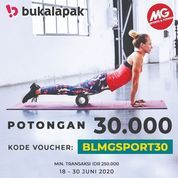 MG Sports Voucher Potongan 30.000 (26508835) di Kota Jakarta Selatan