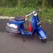 Vespa Super Tahun 1976 Biru (26527463) di Kota Bogor