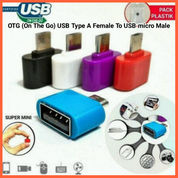 OTG (On The Go) USB Type A Female To USB Micro Male (26536639) di Kab. Grobogan