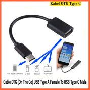 Kabel OTG (On The Go) USB Type A Female To USB Type C Male (26536715) di Kab. Grobogan