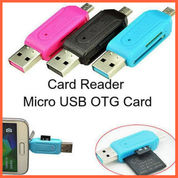 OTG (On The Go) Card Reader USB Type A Or USB Micro Male (26536939) di Kab. Grobogan