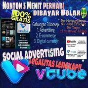 VTube, $5.800/40 Hari Dan Voucher $20 Setiap Hari (Seluruh Indonesia) (26552511) di Kota Jakarta Timur