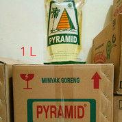 PROMO - Minyak Goreng PYRAMID Refill 1 Liter 1 Dus Isi 12 Pouch - Order 5 Dus Free 1 Dus (26555615) di Kab. Musi Rawas