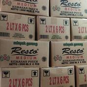 PROMO - Minyak Goreng RESTA Refill 2 Liter 1 Dus Isi 6 Pouch - Order 5 Dus Free 1 Dus (26555643) di Kab. Musi Rawas