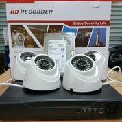 PAKET CCTV 4 CHANEL TURBO HD 1.3MP (26563063) di Kota Jakarta Pusat