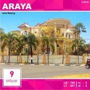Rumah Hook 2 Lantai Luas 809 Di PBI Araya Kota Malang _ 328.20 (26563859) di Kota Malang