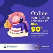 Gramedia Online Book Fair Disc. 90% Komik (26569771) di Kota Jakarta Selatan