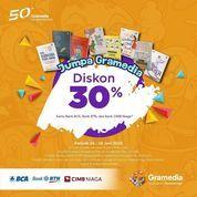 Gramedia Diskon 30% Kartu Bank (26569779) di Kota Jakarta Selatan