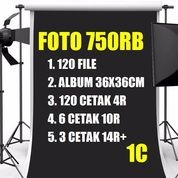 Jasa Photo Wedding Album Foto Jumbo Magnetik 750rb Pernikahan (26613971) di Kab. Bantul