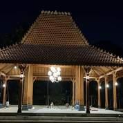 Pendopo Joglo Kayu Jati Ukir Tumpangsari, Rumah Joglo Gebyo Ukir, Rumah Limasan (26625895) di Kab. Sleman