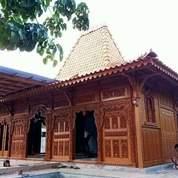 Bangunan Rumah Joglo Gebyok Ukir Bahan Kayu Jati (26627431) di Kota Tangerang