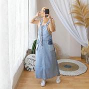 Pakaian Wanita Overall Kereenn Bahan Jeans Wash (26640475) di Kota Bekasi