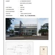 Gedung Ex Showroom Kota Baru JAMBI Lokasi Suka Karya Tengah Kota Strategis SHM (26641047) di Kota Jambi