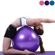 Yoga Gym Ball Alat Bantu Fitness Training Bola Pelangsing Latihan Olahraga Kuat Otot Posisi Duduk (26657519) di Kota Surabaya