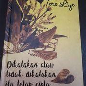 Dikatakan Atau Tidak Dikatakan, Itu Tetap Cinta (26674115) di Kota Denpasar