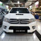 Toyota Hilux 4x4 4 WD Double Cabin 2015 Manual Bukan Bekas Proyek / Tambang (26682063) di Kota Surabaya