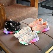 Sepatu Sneakers LED Anak Laki-Laki & Perempuan Motif 012 Import -Murah - 21 (26687123) di Kota Jakarta Selatan