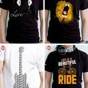 Kaos / Tshirt Custom + Design Gambar / Tulisan (26688763) di Kota Tangerang Selatan