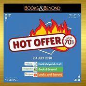 Books & Beyond Hot Offer Up To 70% Off (26693383) di Kota Jakarta Selatan