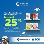 Gramedia Discount 25% BCA (26693411) di Kota Jakarta Selatan