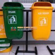 Distributor Tempat Sampah Outdor Dua Warna (26696779) di Kab. Bekasi