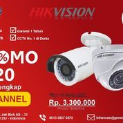 PROMO MURAH PAKET 4 Kamera HIKVISION (26702215) di Kab. Sidoarjo