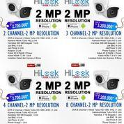 Paket CCTV Online Bergaransi 2 Tahun Free Pasang Merk Hilook Hikvision (26708071) di Kota Depok