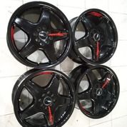 Velg Bekas Ring 17 Rata Lobang 8X100-114,3 Model HSR Wheel (26708763) di Kota Jakarta Barat