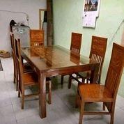 Set Kursi Makan Balero 6 Kursi Jati Berkualitas (26722027) di Kota Jakarta Barat