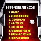 Foto Video Cinematic Album Magnetik Wedding 2.25jt Jogja Photo Murah Clip (26723959) di Kota Yogyakarta