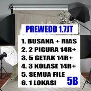 Paket Prewedding Foto & Rias & Busana 1.6jt Murah Lengkap Jogja Wedding Pernikahan (26724783) di Kab. Sleman