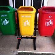 Tempat Sampah Gandeng Oval Tiga Pilah 001 (26732187) di Kab. Bekasi