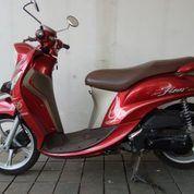 Yamaha Fino 2017 Premium Red Km Rendah (26742923) di Kota Bandung