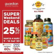 Guardian Super Weekend Seals 25% Off (26760615) di Kota Jakarta Selatan