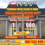RUMAH SUBSIDI JEMBER ROYAL CITY ICON KALIWATES (26763775) di Kab. Jember