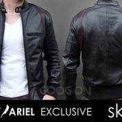 Jaket Kulit Black Ariel Style (26769987) di Kab. Bantul