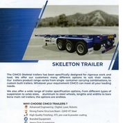 TRAILER 40Ft FLAT BED, SKELETON BED, Kabupaten Dairi (26770691) di Kab. Dairi